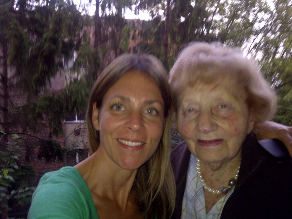 Dodo Newman and her grandmother Marta