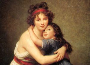 Madame Vigée Le Brun and her daughter Jeanne Lucie Louise