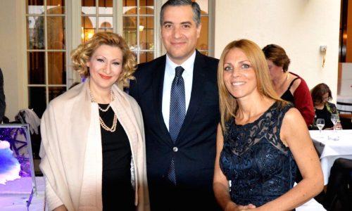 H.E. Dr. Mustapha Adib, Ambassador of Lebanon to Germany with his wife