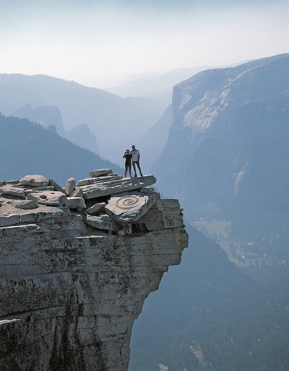 Fine Line Half Dome USA © Martin Hill and Philippa Jones