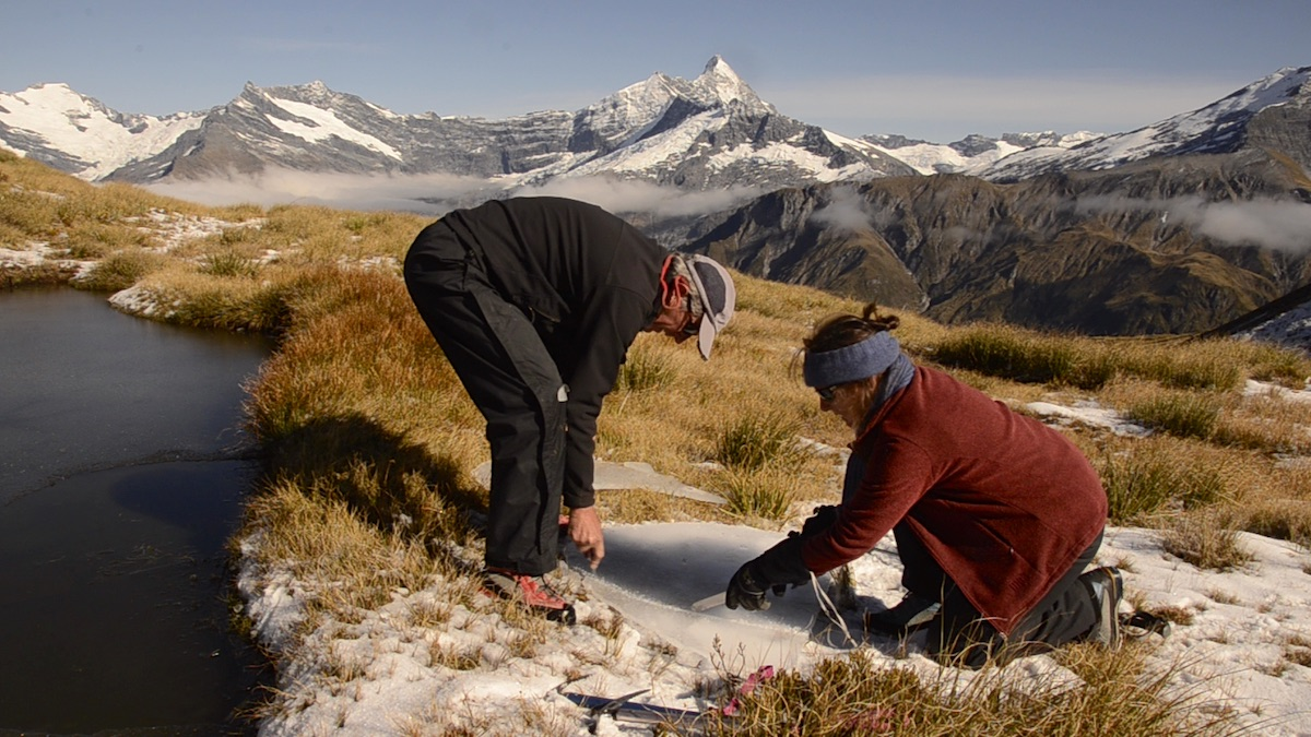 Martin Hill and Philippa Jones making Ice Cycle © Martin Hill and Philippa Jones