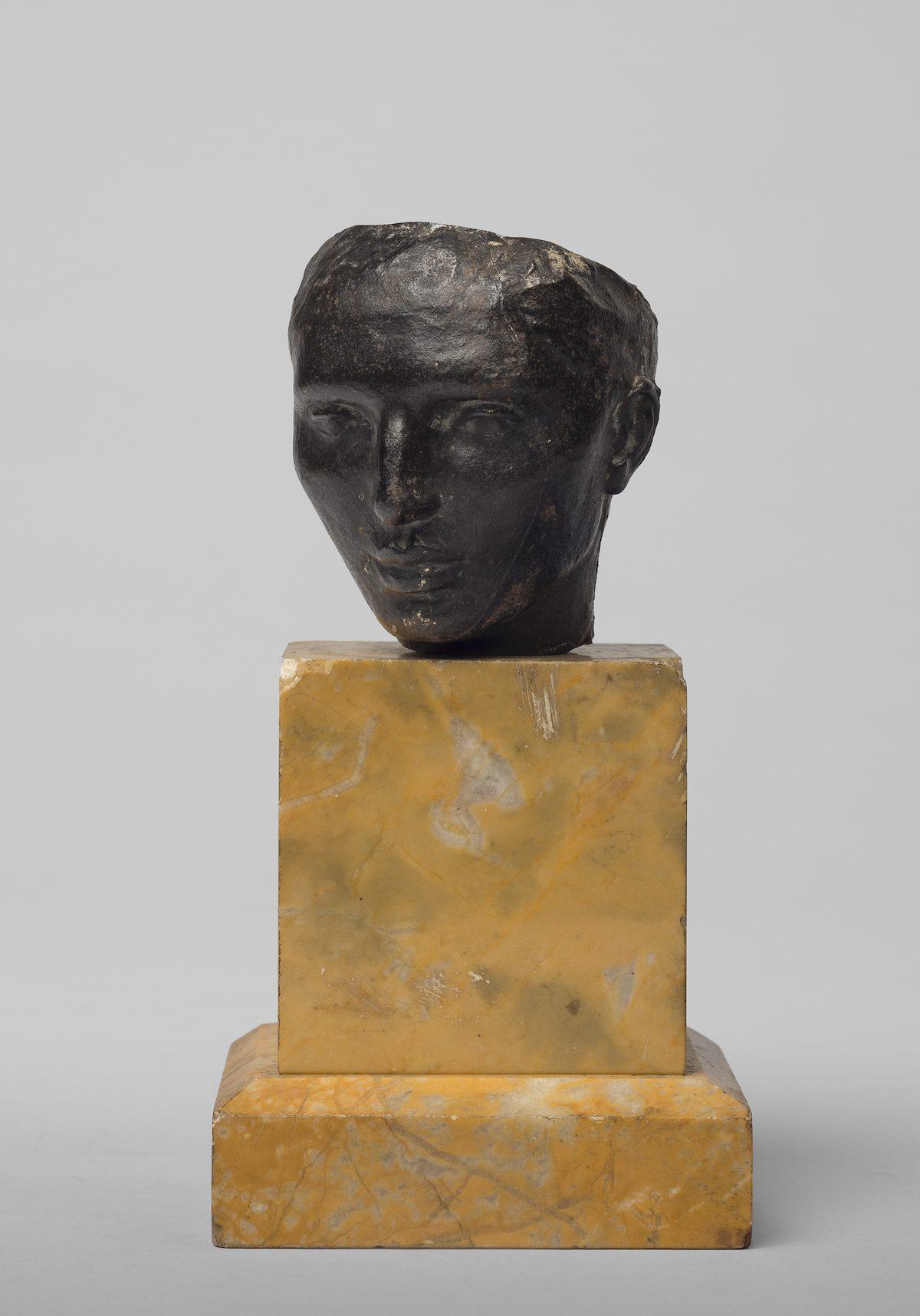Renée Sintenis, Kleines Selbstbildnis, 1916/1917, © Staatliche Museen zu Berlin, Nationalgalerie / Bernd Sinterhauf / VG Bild-Kunst, Bonn 2019